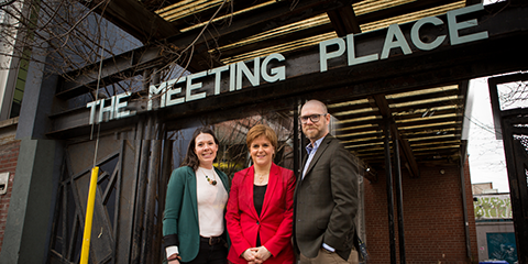 New Canada-Scotland partnership to support social enterprise announced by First Minister