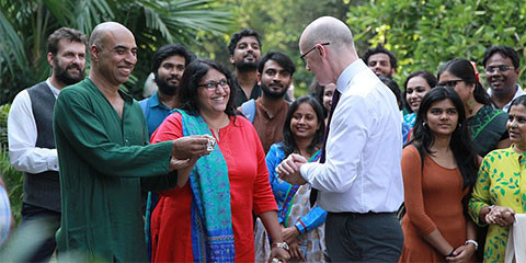 Scotland and India collaborate on social enterprise