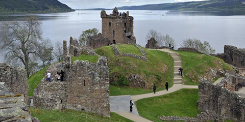 Forget Nessie, local schools are selling goodies at Urquhart Castle